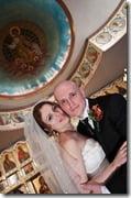 Svetlana Bukharina Kanarikov Dmitriy Kanarikov wedding picture