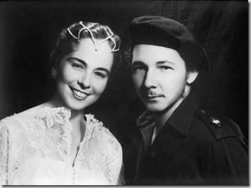 Vilma Espin Raul Castro wedding