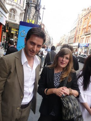 Richard Armitage with beautiful, Girlfriend Annabel Capper