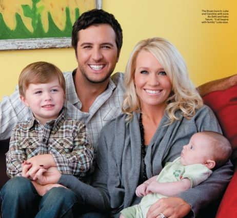 Caroline boyer adpi images galleries for How many kids does luke bryan have