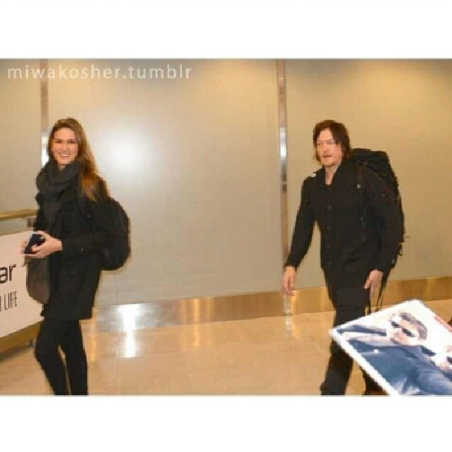 cecilia singley and norman reedus still dating