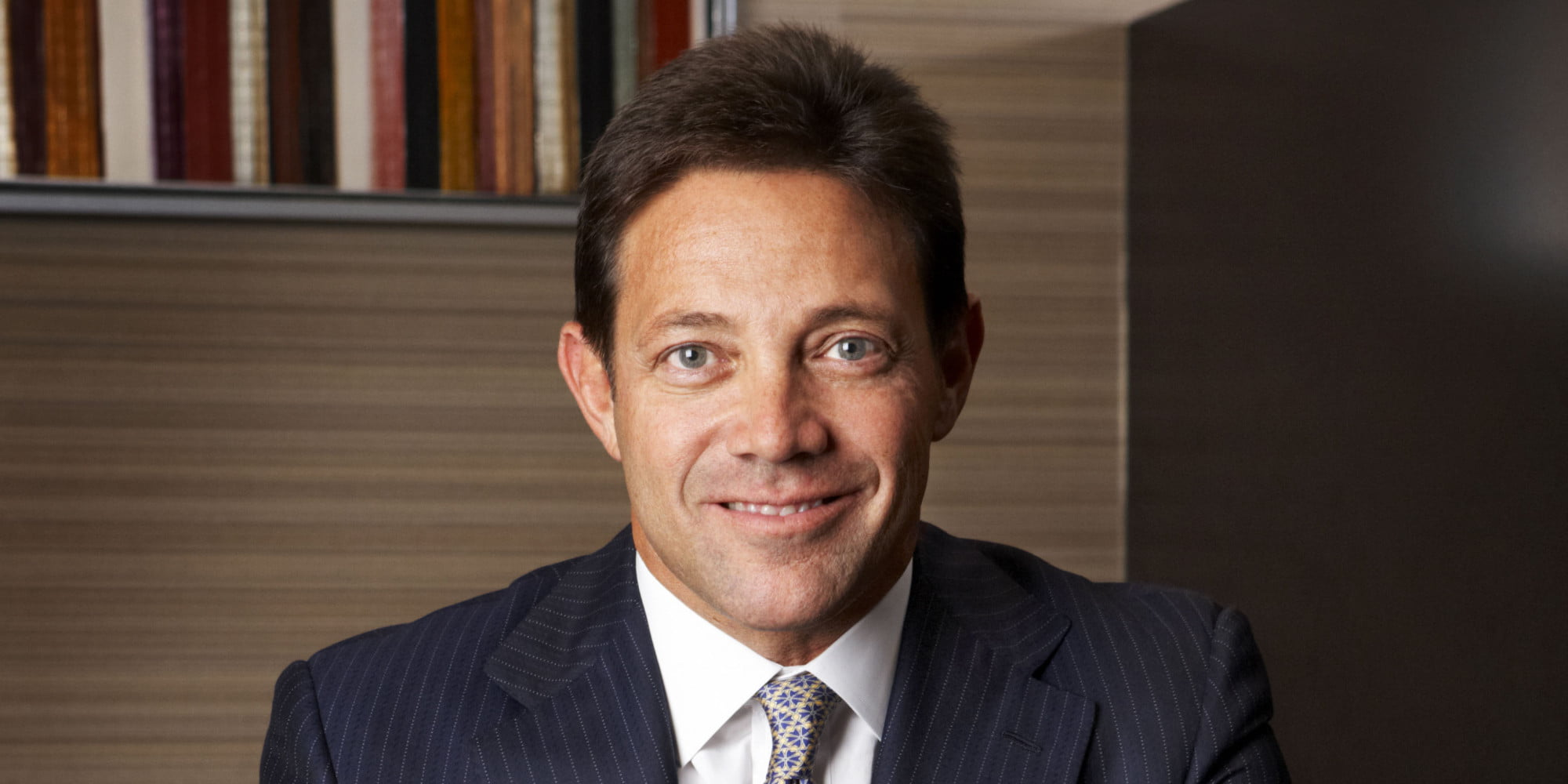 Jordan Belfort earned a  million dollar salary, leaving the net worth at -100 million in 2017