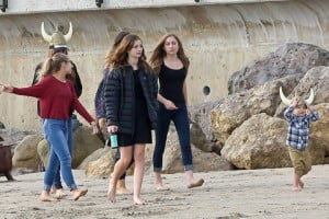 Exclusive - Paul Walker's Family Spend The Day At The Beach