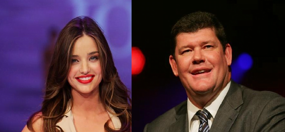 Aussie Millionaire James Packer is Miranda Kerr's New Boyfriend