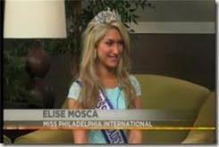 Elise Mosca Miss Philadelphia International pic