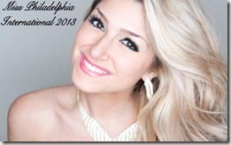 Elise Mosca Miss Philadelphia International