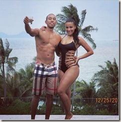 Eudoxie Agnan Ludacris girlfriend photo