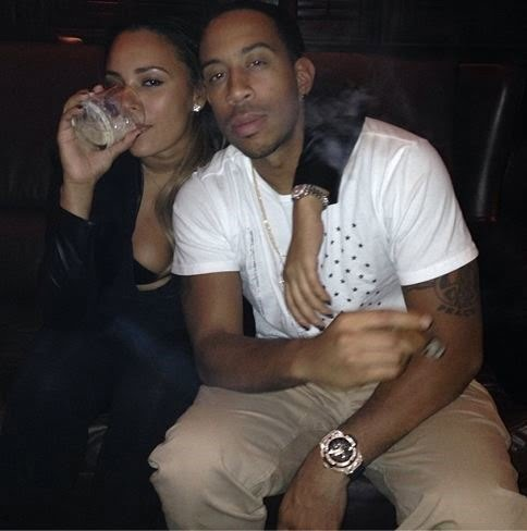 Eudoxie Agnan Rapper Actor Ludacris Girlfriend Photos