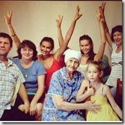 Irina Shayk family pics