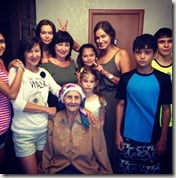 Irina Shayk family picture