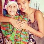 Irina Shayk grandmother Galina Shaykhlislamova picture