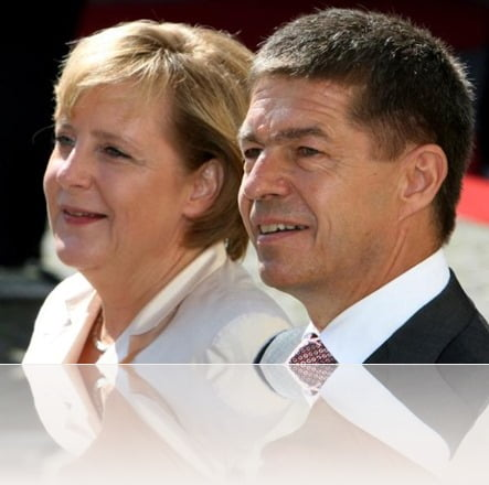Joachim Sauer Angela Merkel husband