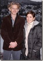 Julie Goyet husband Mauricio Amigorena pic