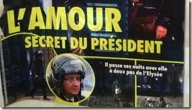 Juliet Gayet Francois Hollande closer magazine photo