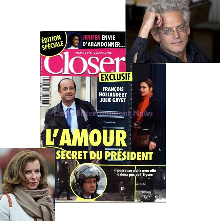Cheating Scandal!! Francois Hollande and Julie Gayet Affair Photos in Closer Magazine!!