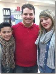 Leandro Lopes Santos Rosangela Biavati husband children