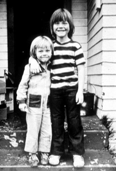 Step-Brother Charity Leonardo  Adam Moore- Farrar DiCaprio
