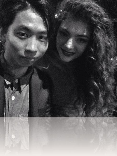 Lorde Boyfriend James Lowe picture