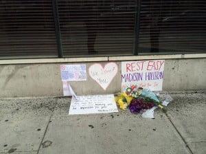 Madison Holleran death scene pic