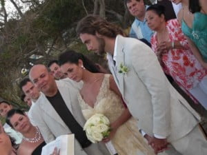 Monica spear mootz Thomas Henry Berry wedding pic