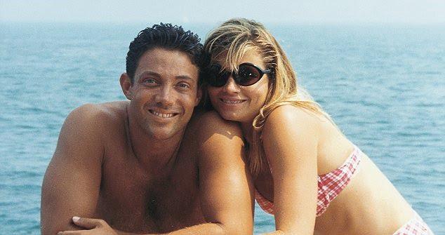 Nadine Caridi with former husband Jordon Belfort