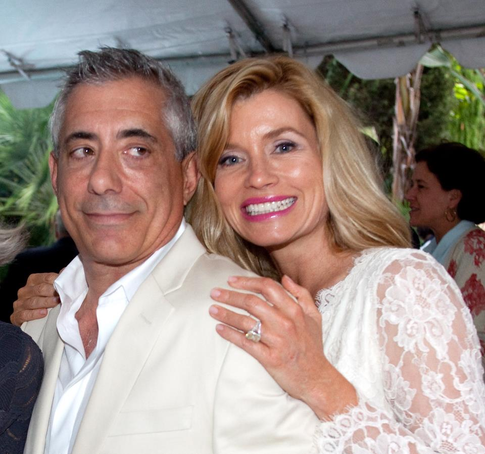 Nadine Caridi with current husband John Macaluso