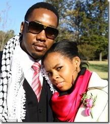 Ndaba Mandela wife  Kgmotso