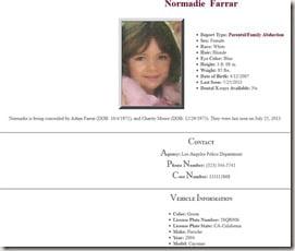 Normandie Farrar Adam Farrar Charity Moore daughter pics