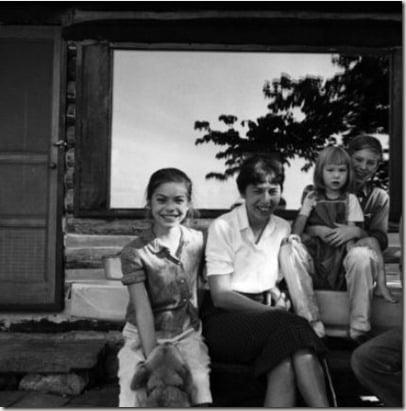 Peter Seeger Toshi Seeger children