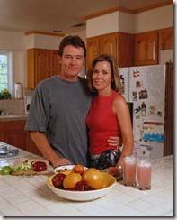 Robin Dearden Bryan Cranston wife picture