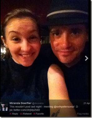 Seth Peterson girlfriend Miranda Doerfler pictures
