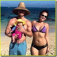 Stephen Amell wife Casandra Jean Whitehead amell pic