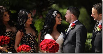 Tracy DiMarco Corey Epstein wedding photo