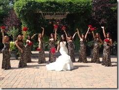 Tracy DiMarco Corey Epstein wedding pics