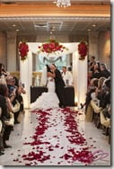 Tracy DiMarco Corey Epstein wedding picture