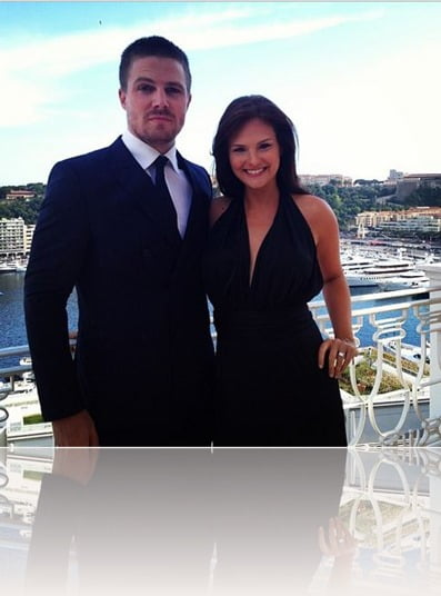 cassandra jean whitehead amell stephen amell pic