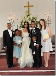 victoria rowell radcliffe bailey wedding photo