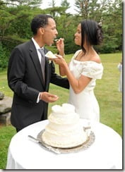 victoria rowell radcliffe bailey weddingpic