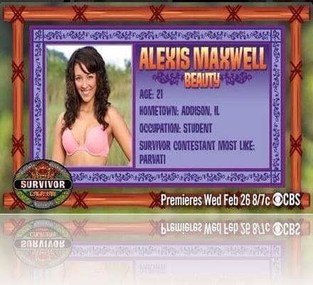 Alexis Maaxwell Survivor Cayagan