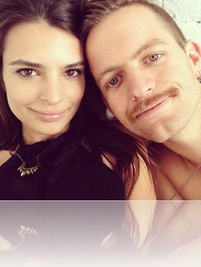 Andrew Dryden blurred lines model Emily Ratajkowski  boyfriend