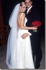 Charlotte Dawson Scott Miller wedding pic