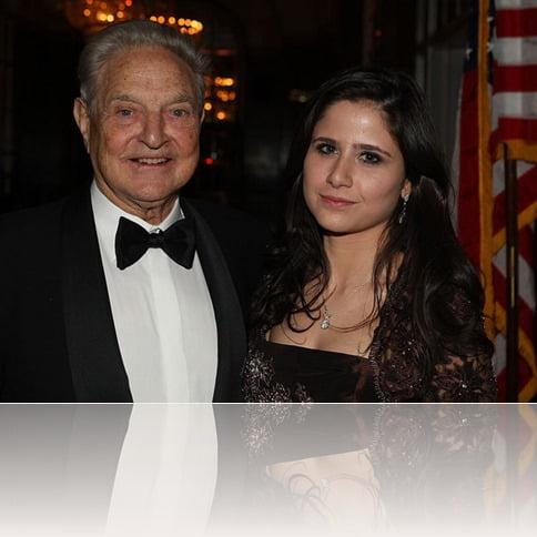 George Soros ex girlfriend Adriana Ferreyr