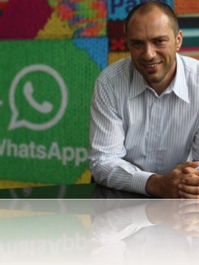 Jan Koum Whatsapp bio