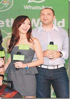 Jan Koum Whatsapp girlfriend