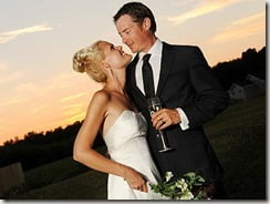Jason London Sofia Karstens wedding pic