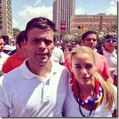 Leopoldo Lopez wife Lilian Tintori pictures