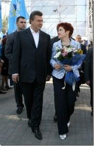 Lyudmyla Yanukovych- Ukrainian President Viktor Yanukovych's Wife