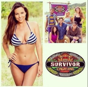 Morgan McLeod- Ex- SF 49Ers cheerleader and Contestant at Survivor: Cagayan