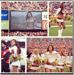 Morgan McLeod sf 49ers cheerleader photo