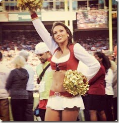 Morgan McLeod sf 49ers cheerleader